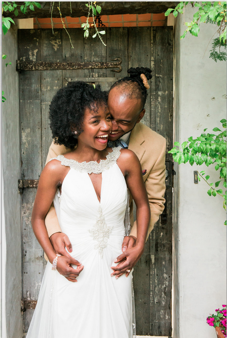 black couple in front door-cute-cdmv